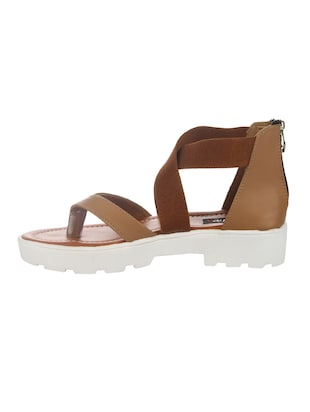 tan closed back sandal - 14465690 - Standard Image - 2