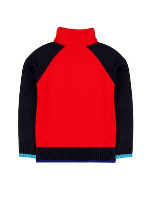 red acrylic sweater - 14466028 - Standard Image - 2