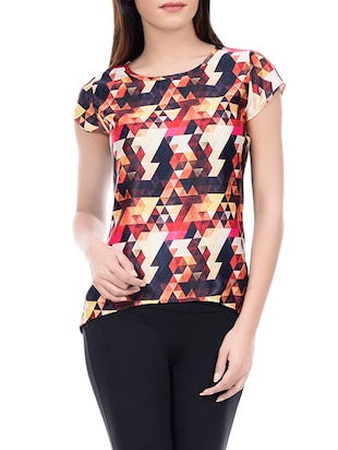 set of 2 multi colored printed top - 14466215 - Standard Image - 5