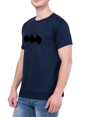 navy blue cotton character t-shirt - 14467309 - Standard Image - 2