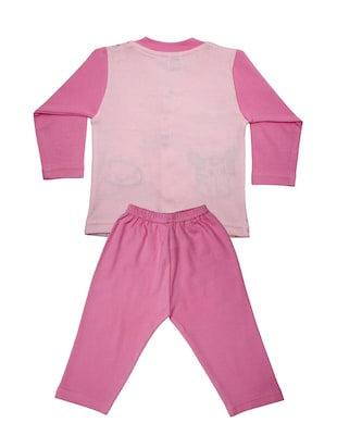 pink cotton full length set - 14467554 - Standard Image - 2