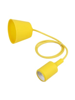Pack of 2 Vintage Edison Tungsten Decorative Filament E 27 Holder Yellow Ceiling lamp - 14469033 - Standard Image - 2