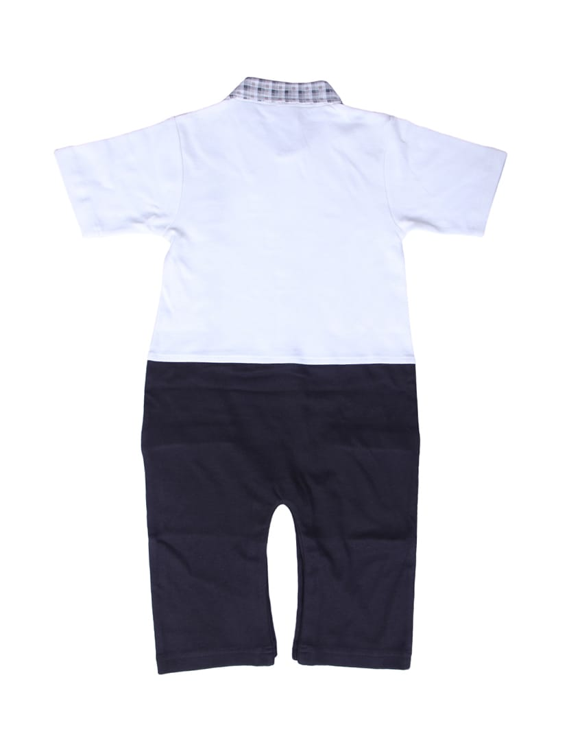 eb6a20a3660b Buy Blue Cotton Romper by Little Studio - Online shopping for ...