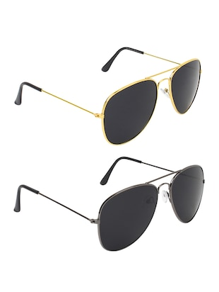 Abner Combo of Two aviator Sunglasses - 14476255 - Standard Image - 2