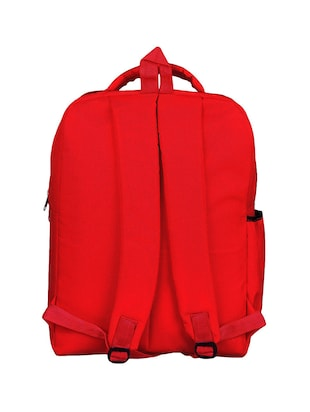 red canvas bag - 14479087 - Standard Image - 2
