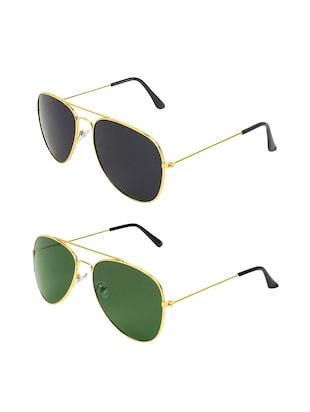 Abner Combo of two sunglasses - 14480598 - Standard Image - 2