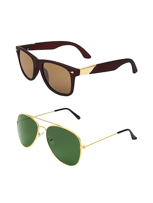Abner Combo of two sunglasses - 14480653 - Standard Image - 2