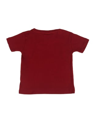 red cotton tshirt - 14483886 - Standard Image - 2