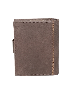 brown leather wallet - 14484638 - Standard Image - 2