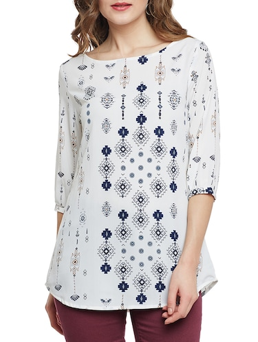 6bbd6ff7019aa8 White tops - Buy White tops Online at Best Prices in India - LimeRoad.com