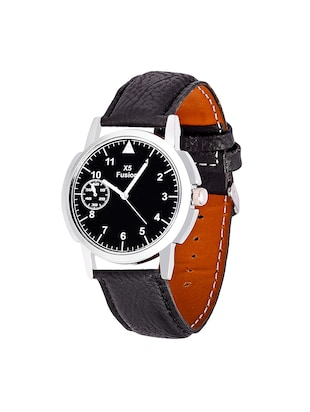 X5 Fusion Royal Black Leather Watch Set of 2 - 14487063 - Standard Image - 2