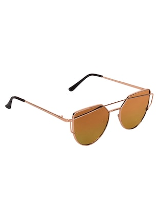 Abner Oversized Around Unisex Sunglasses - 14492229 - Standard Image - 2
