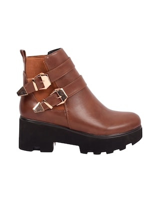 brown ankle  boot - 14494230 - Standard Image - 2