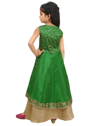 green polyester suit set - 14494557 - Standard Image - 2