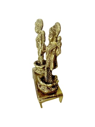 God Statue of Vishnu And Laxmi Handicrafts Product - 14496085 - Standard Image - 2