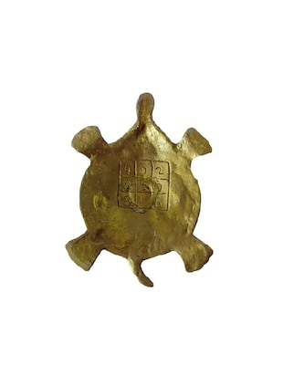 Brass Small Deep With Tortoise Statue Handicrafts Product - 14496204 - Standard Image - 2