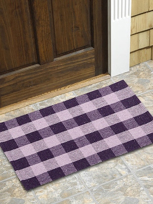 Set of 2 Hand Made Light Weight Durable Door Mat - 14497261 - Standard Image - 2