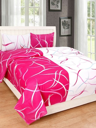 Abstract Print Cotton Double Bedsheet   Online Shopping For Bed Sheet Sets
