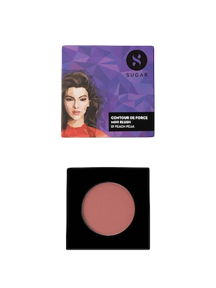 SUGAR Contour De Force Mini Blush - 02 Pink Pinnacle (Deep Rose)