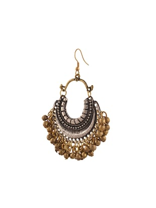 multi metal other earring - 14502797 - Standard Image - 2