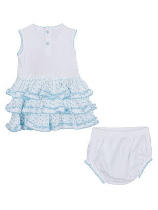 blue cotton twin set - 14504347 - Standard Image - 2