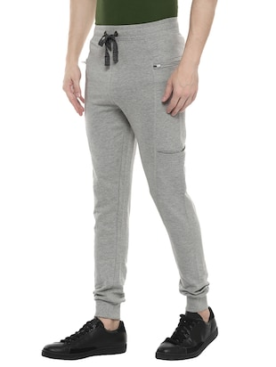 grey cotton joggers - 14504448 - Standard Image - 2
