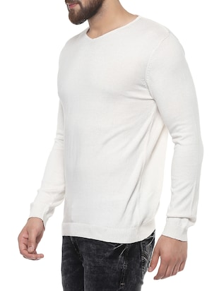 white cotton t-shirt - 14504959 - Standard Image - 2