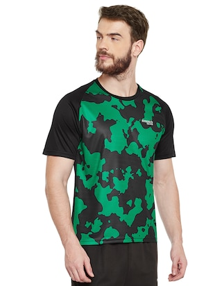 green polyester tshirt - 14505895 - Standard Image - 2