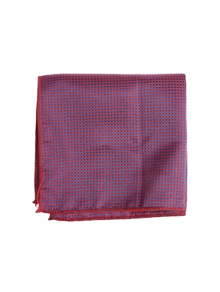 purple  micro silk fabric tie with cuff link and pocket square - 14506878 - Standard Image - 2