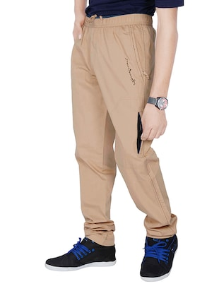 brown cotton pyjama - 14511686 - Standard Image - 2