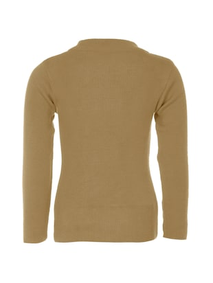 beige wool  sweater - 14513223 - Standard Image - 2