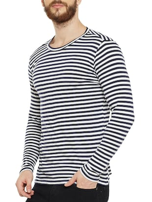 navy blue cotton t-shirt - 14515499 - Standard Image - 2