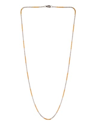gold metal chain necklace - 14515922 - Standard Image - 2