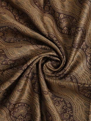 brown woolen shawl - 14521635 - Standard Image - 2