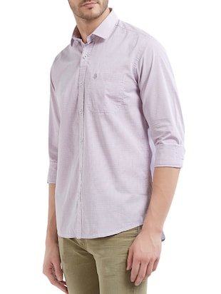 multi cotton casual shirt - 14525681 - Standard Image - 2