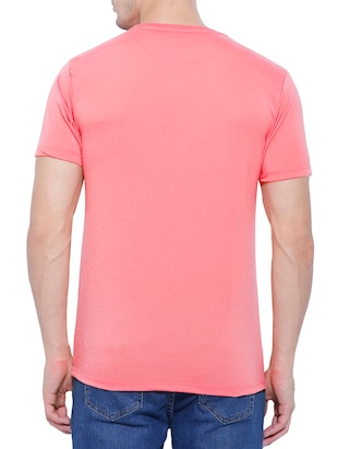 pink cotton t-shirt - 14526810 - Standard Image - 2