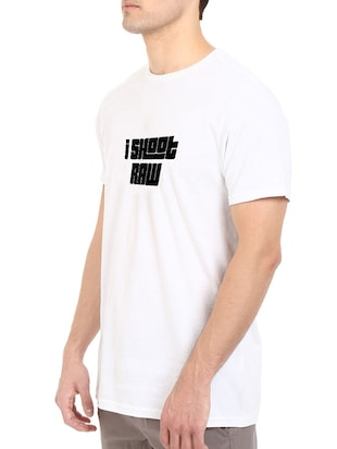 white cotton t-shirt - 14528631 - Standard Image - 2