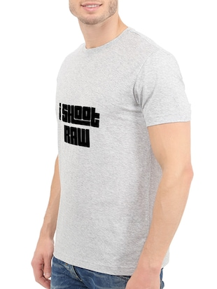 grey cotton t-shirt - 14528633 - Standard Image - 2