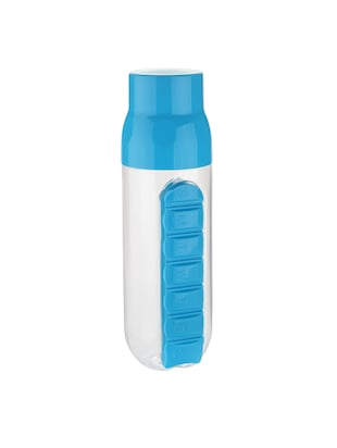 Combo of 2 pcs Pill Organizer Water Bottle 700 ml - 14528863 - Standard Image - 2