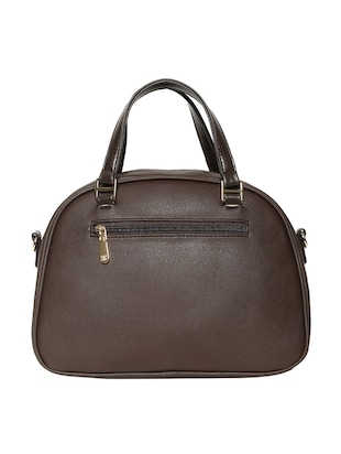brown leatherette handbag - 14530308 - Standard Image - 2