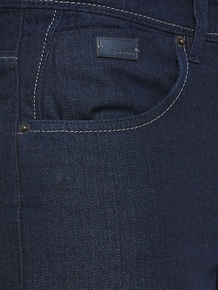 blue denim plain jeans - 14530310 - Standard Image - 5