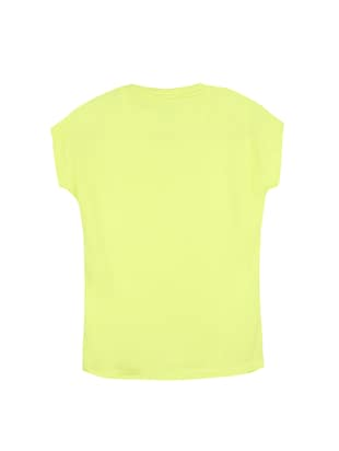yellow cotton tee - 14530376 - Standard Image - 2