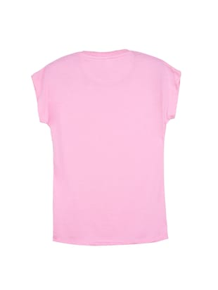 pink cotton tee - 14530818 - Standard Image - 2
