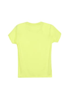 yellow cotton blend tshirt - 14531382 - Standard Image - 2