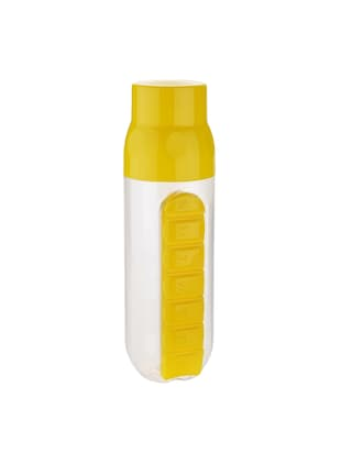 Combo of 2 pcs Red Pill Organizer Water Bottle each 700 ml - 14531518 - Standard Image - 2