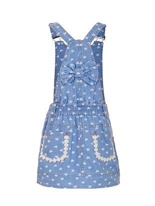 blue cotton dungaree - 14531865 - Standard Image - 2