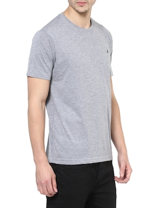 grey cotton t-shirt - 14531967 - Standard Image - 2