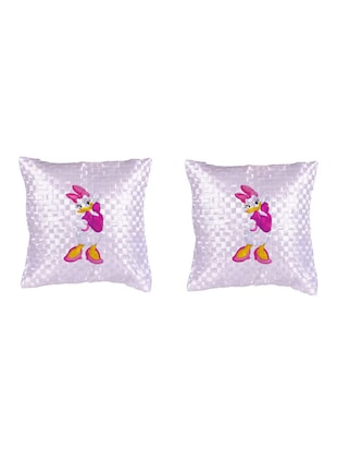 "Cartoon Character ""Daisy duck"" Printed Set Of 5 Cushion Covers - 14535569 - Standard Image - 2"