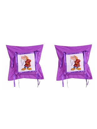 "Cartoon"" Dwarf""  Printed Set Of 5 Cushion Covers - 14535812 - Standard Image - 2"