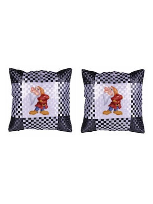 "Cartoon"" Dwarf""  Printed Set Of 5 Cushion Covers - 14535814 - Standard Image - 2"